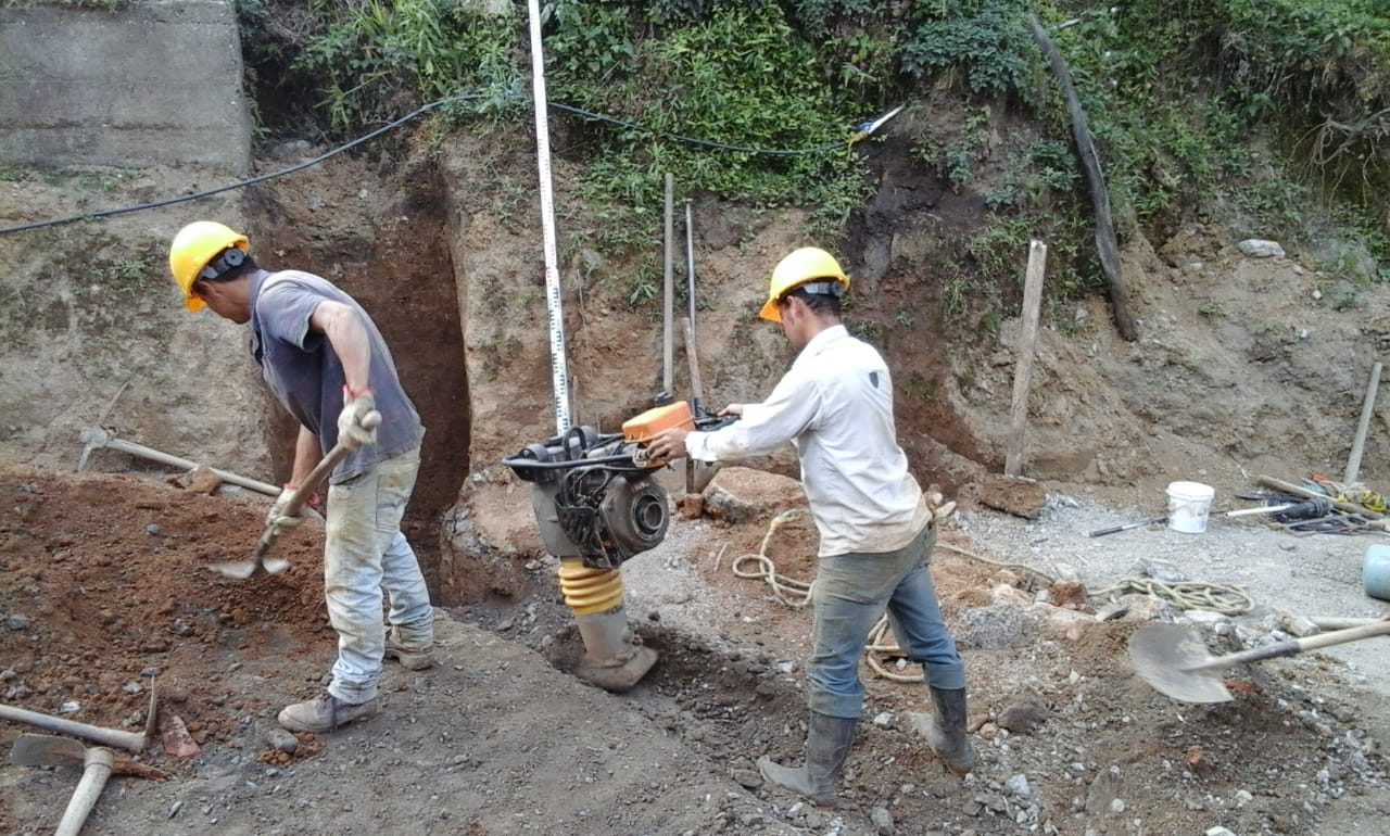 Avanza pavimentación y embellecimiento del centro poblado de Dantas