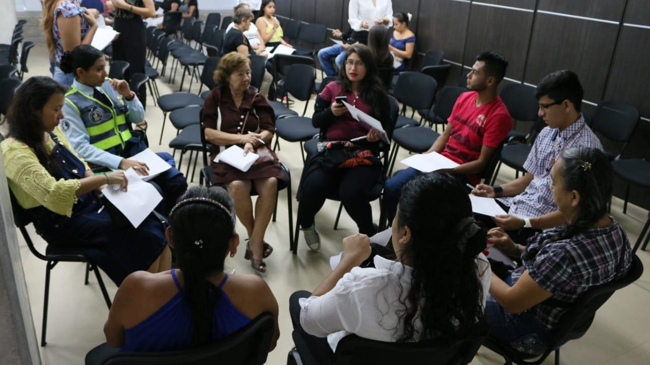 Familiares de fallecidos en incidentes viales participaron en taller de cierre del duelo