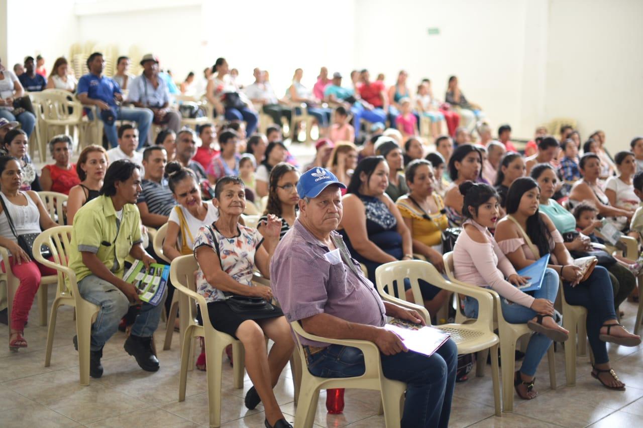 Se realizó sorteo de lotes para beneficiar a habitantes del Hato de la Virgen