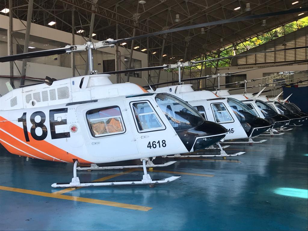 Estados Unidos entregó oficialmente 60 helicópteros a la Fuerza Aérea Colombiana