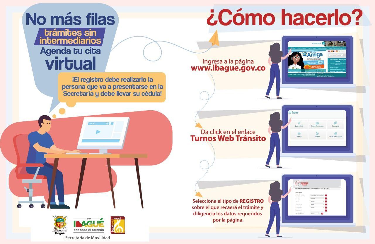 Casi 53 mil ibaguereños han realizado trámites en la Secretaría de Movilidad