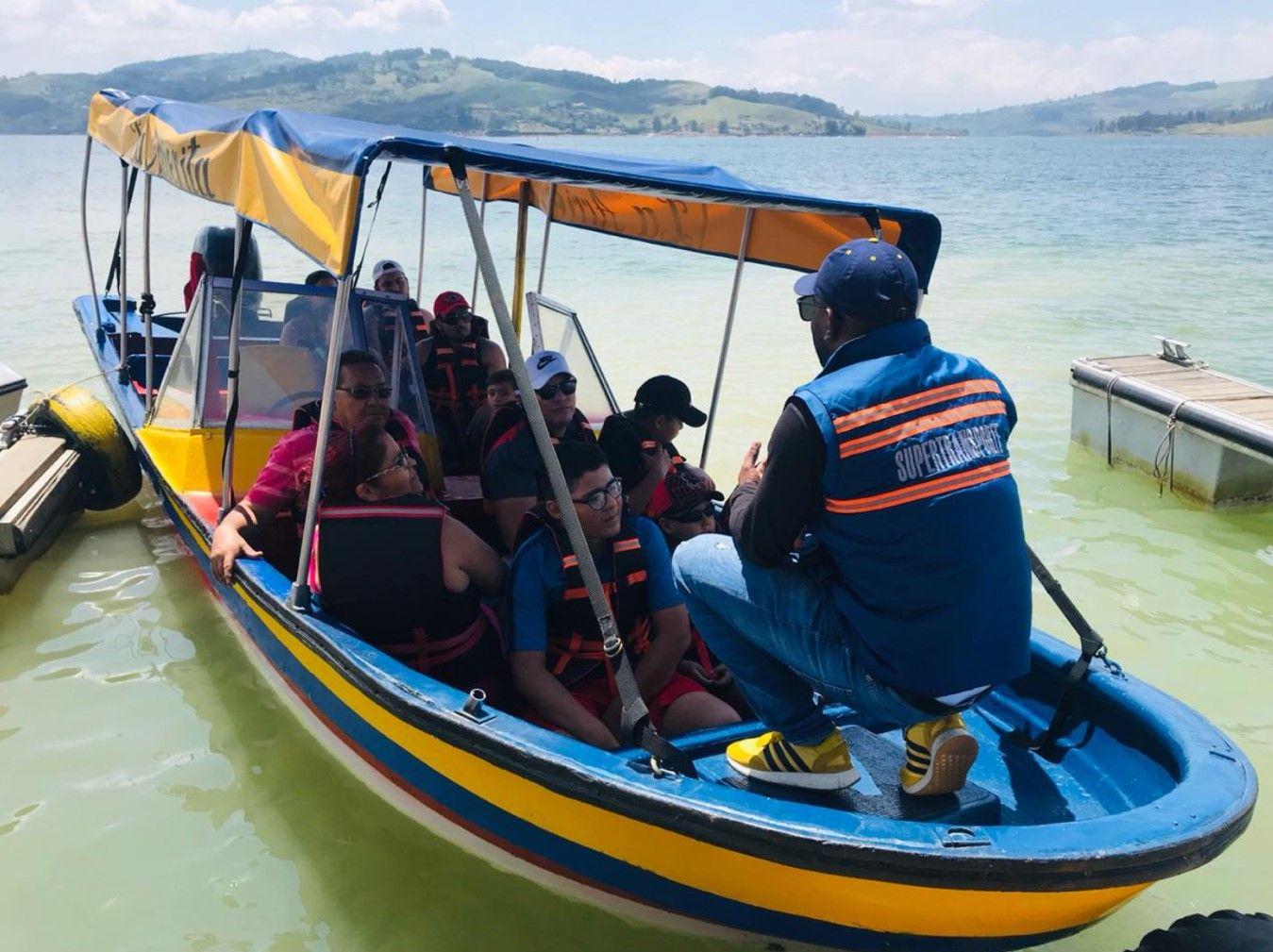 Más de 11 mil usuarios se movilizaron por lagos, lagunas y embalses en cuatro regiones