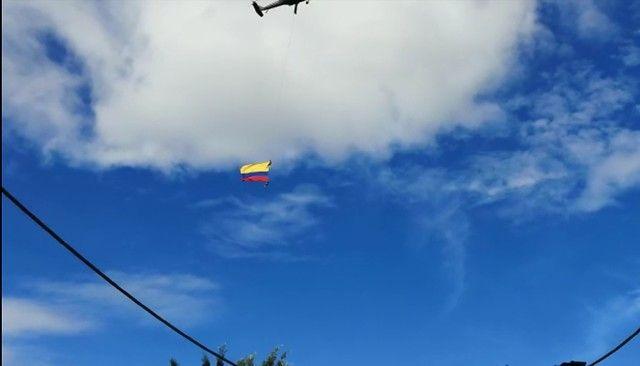 Dos militares murieron en exhibición aérea