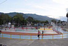 Inauguradas pista, canchas y parque en las afueras del Estadio