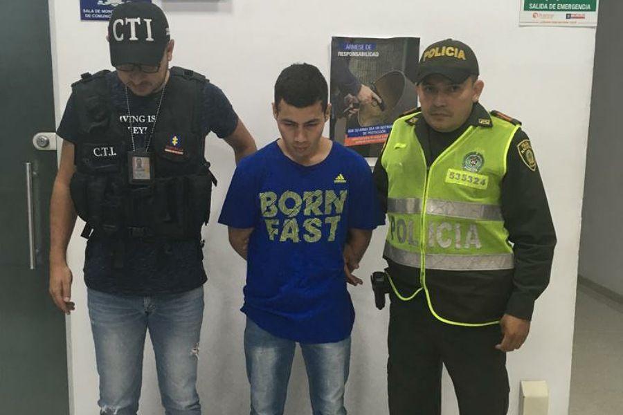 Asegurado alias 'Pipas' por homicidio tentado contra un hombre de 29 años