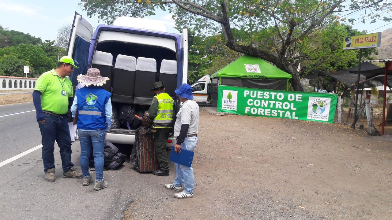 Cortolima hizo parte del operativo nacional contra el tráfico ilegal de fauna y flora silvestre