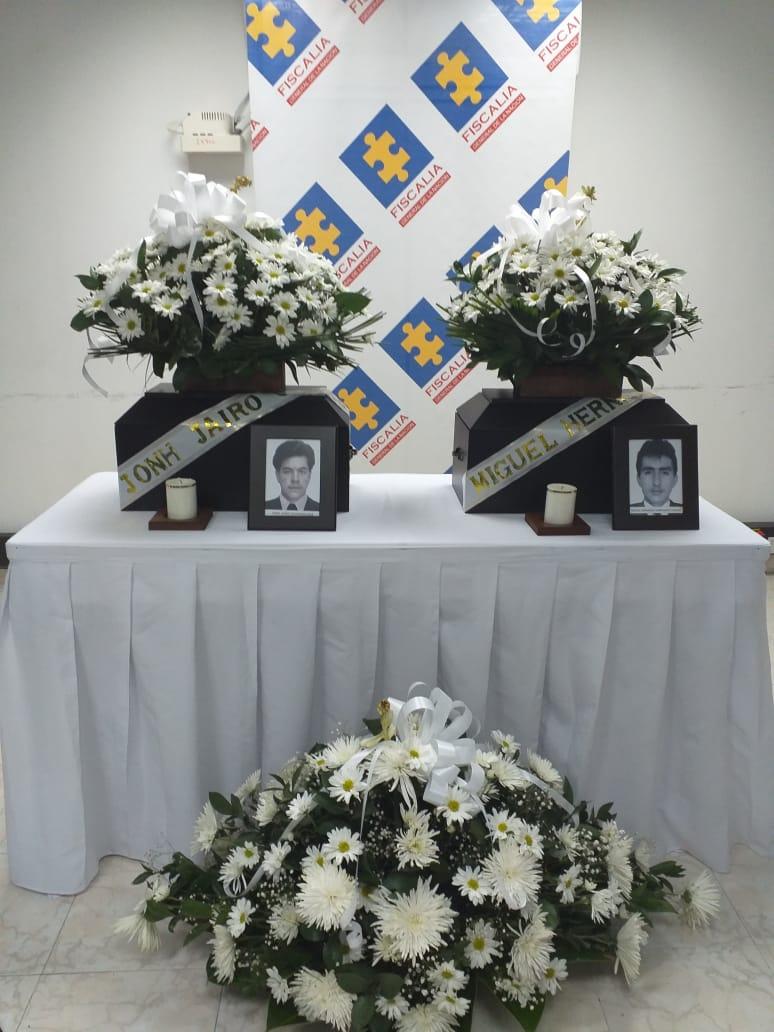 Entregan restos óseos de dos víctimas del conflicto armado a sus familiares