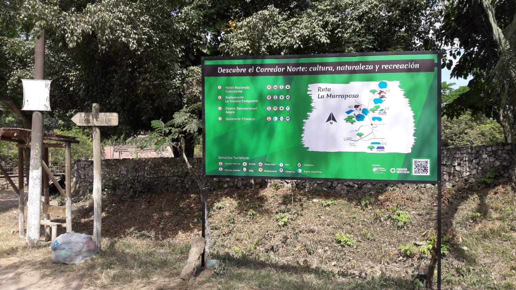 Adelantan señalización del corredor turístico norte de Ibagué