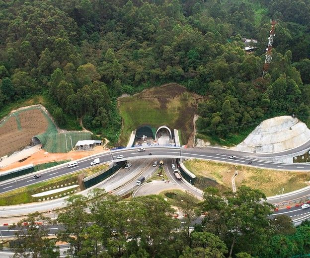 Antioquia estrena este jueves el túnel más largo de Colombia