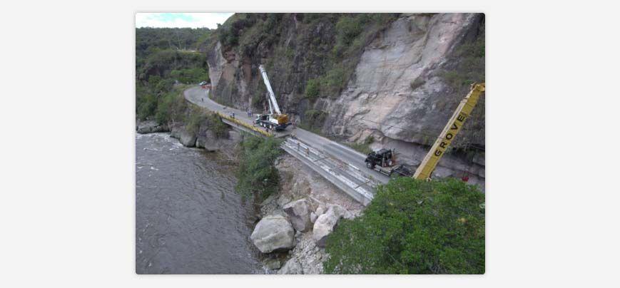 Obras para recuperar el paso a dos carriles en la vía Neiva - Pitalito