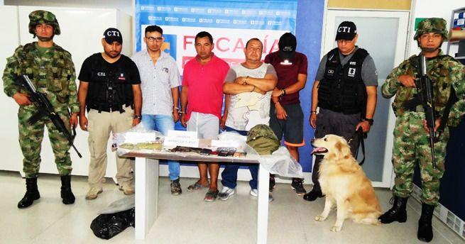 Cayeron 'Los Victorinos' por tráfico de estupefacientes en Ibagué