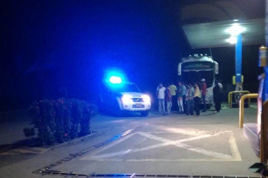 Intentaron atracar a un bus en carretera del sur del Tolima
