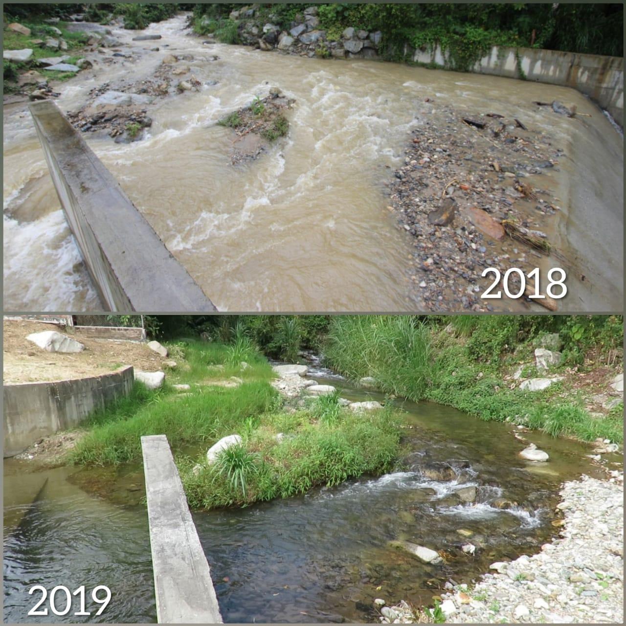 Fuerte verano empieza a disminuir caudales de abastecimiento del Ibal