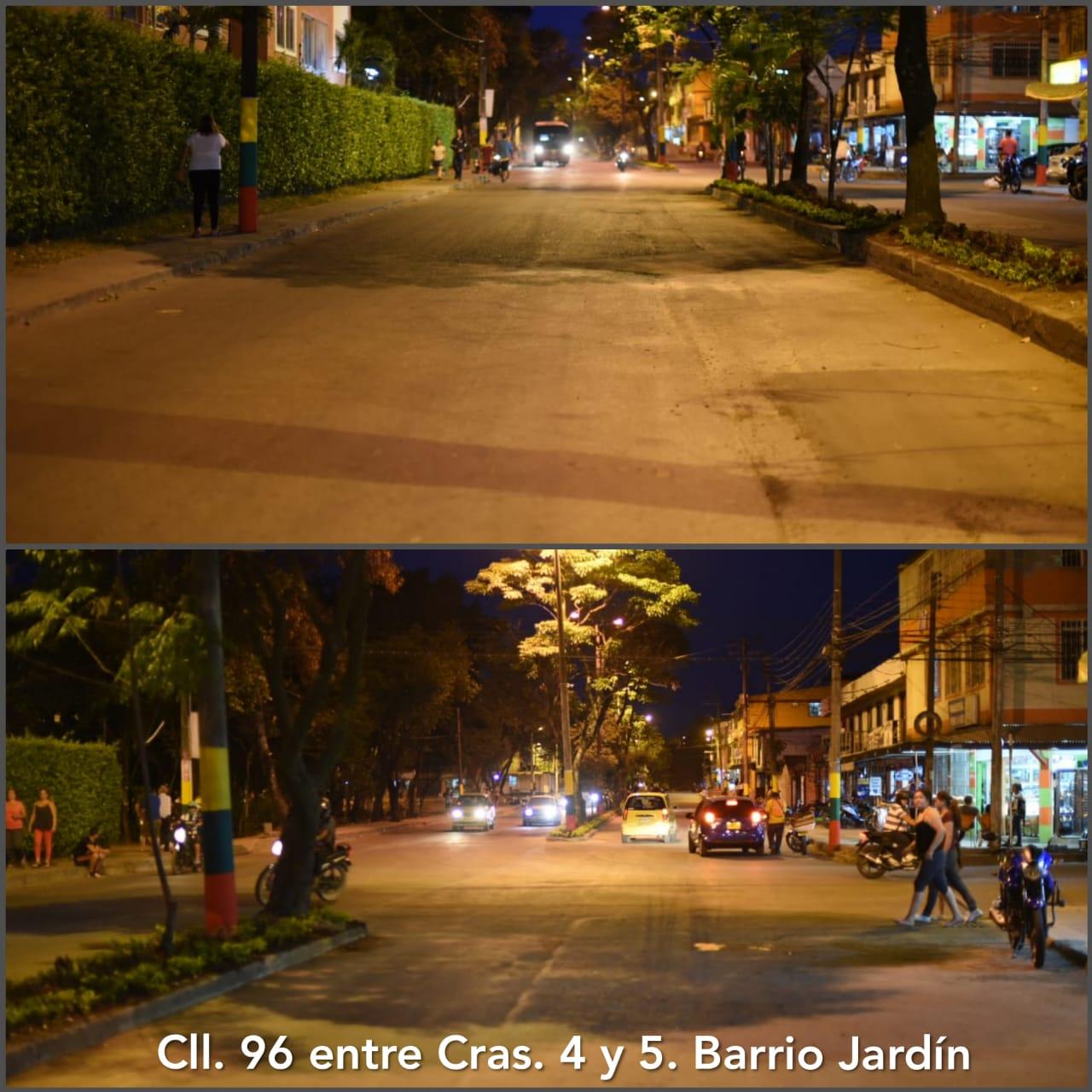 Dos vías recuperadas en Picaleña y El Jardín por parte del Ibal