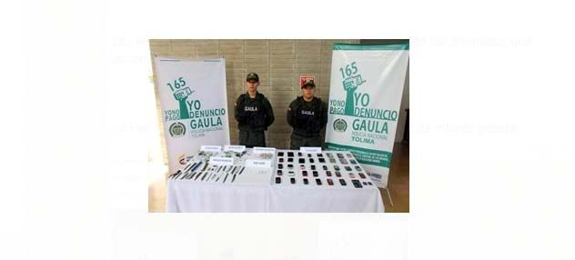 Operativo contra la extorsión en la cárcel de Picaleña