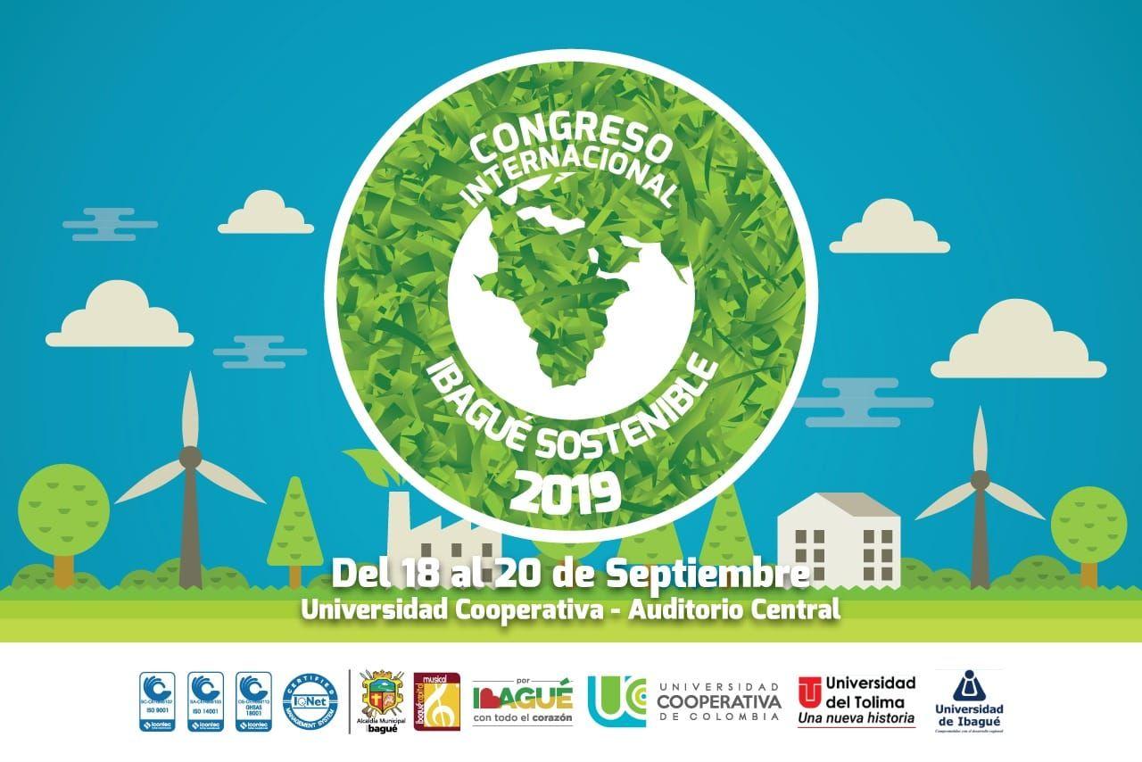 Del 18 al 20 de septiembre se realizará el Congreso Internacional 'Ibagué sostenible'