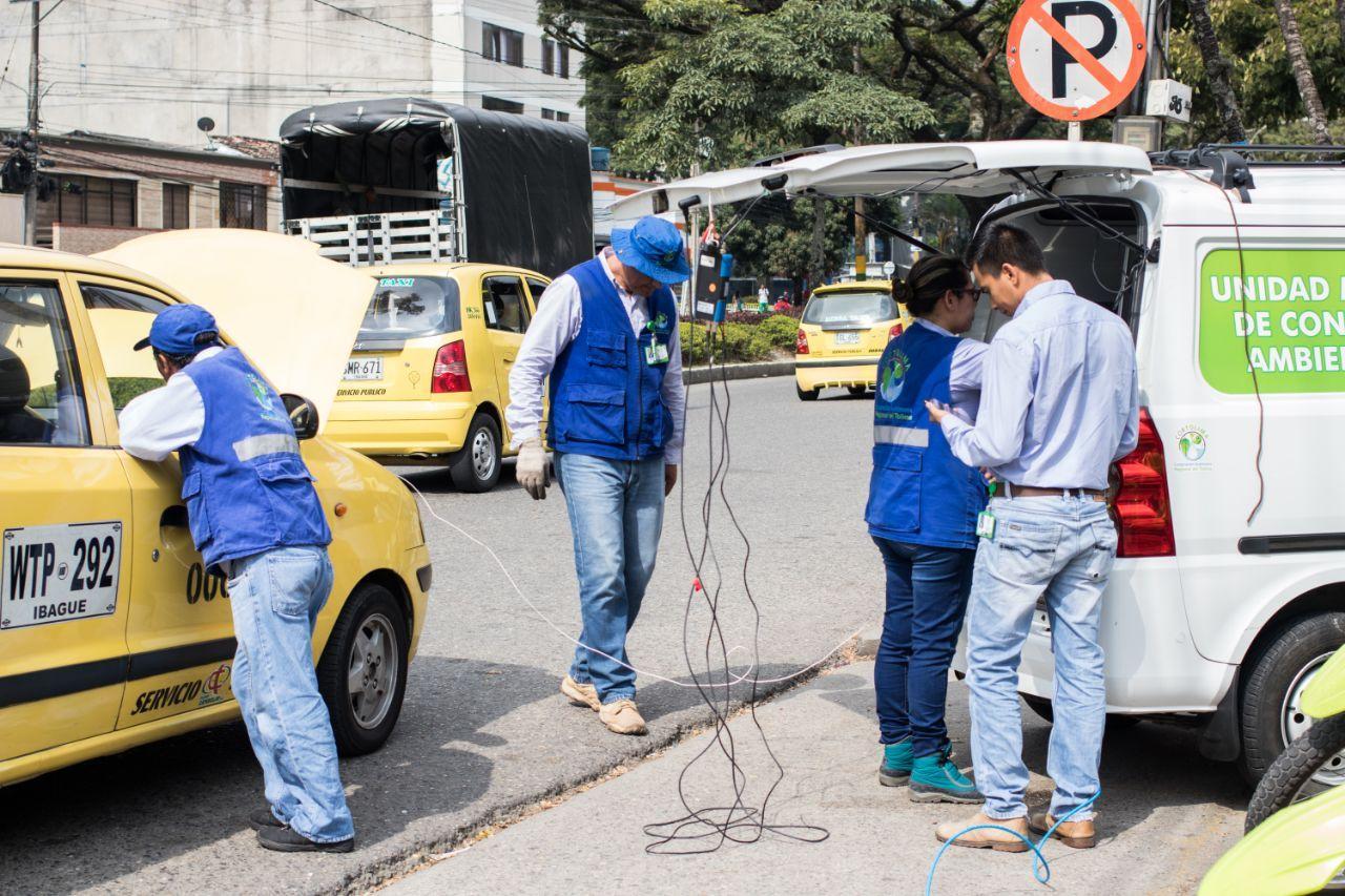 Cortolima hará mediciones de gases y ruidos durante el 'Día sin carros y motos' en Ibagué