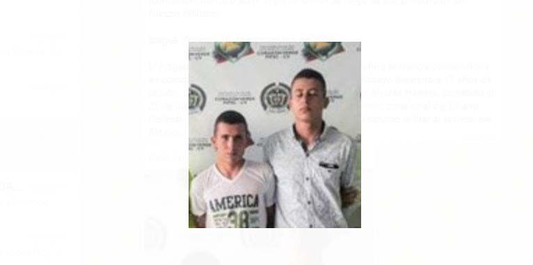 Condenados dos ex militares a 17 años de prisión por homicidio de un soldado