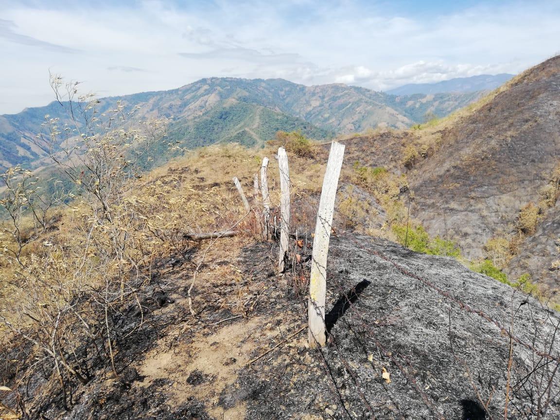 Controlado incendio de Alvarado