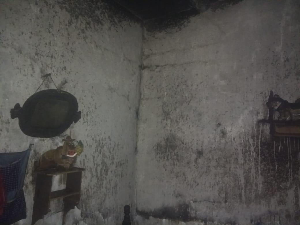 Dos mujeres heridas dejó incendio de una casa en Dolores