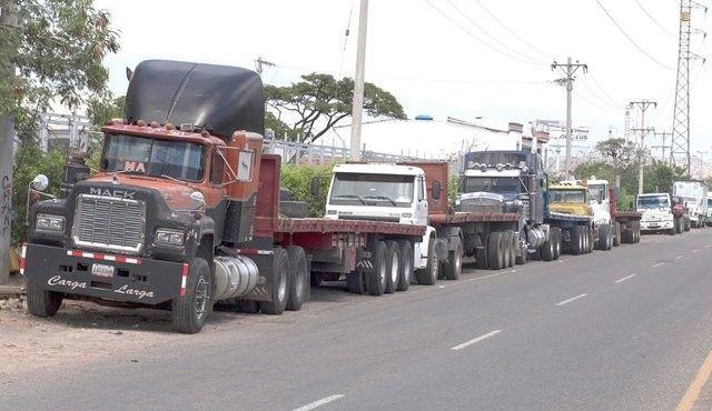 Así avanza el paro de transportadores en Bogotá