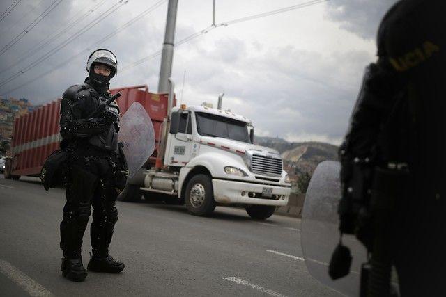 Paro de transportadores afecta a municipios cercanos a Bogotá