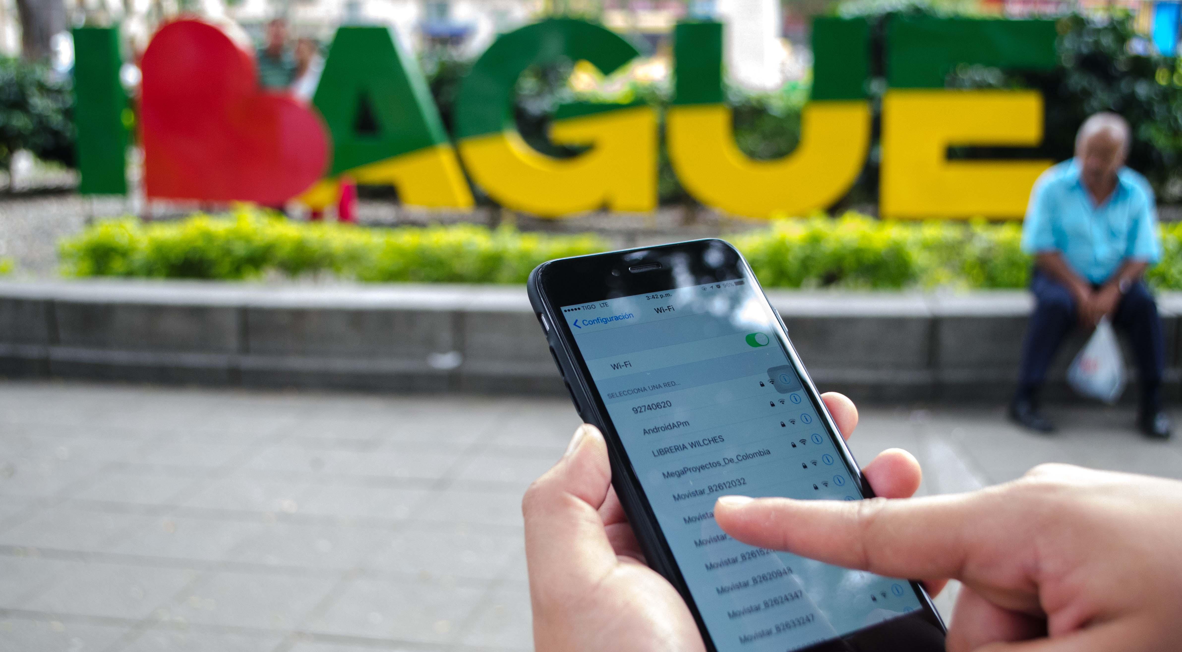 Ibaguereños se han conectado más de un millón y medio de veces desde las zonas wifi públicas