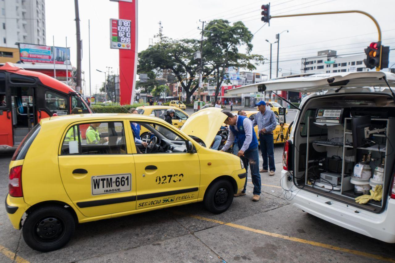 Cortolima dio a conocer mediciones de la primera jornada del 'Día sin carro en Ibagué', en febrero