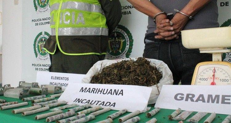 250 kilogramos de estupefacientes fueron incautados en la última semana en Ibagué