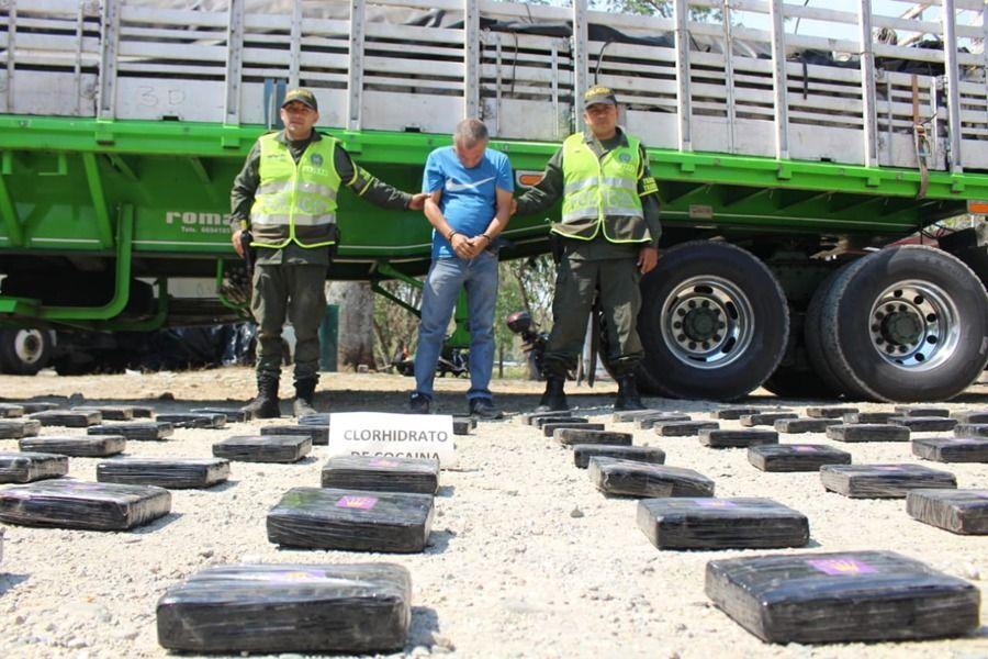 Cayó con 120 kilos de clorhidrato de coca cerca del peaje de Alvarado