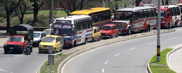 Bajó el promedio de buses para transporte público en el país