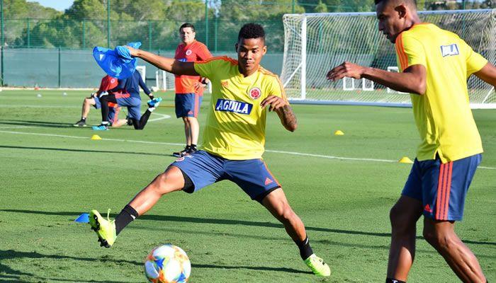 Colombia prepara su duelo ante Chile