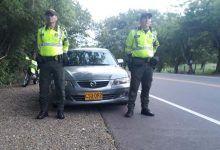 Policía recuperó en el Tolima un carro robado en Bogotá