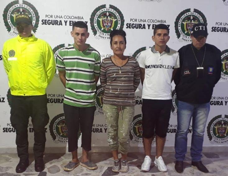 'Camilo', 'Allan' y 'La tía': Acusados de homicidio y microtráfico