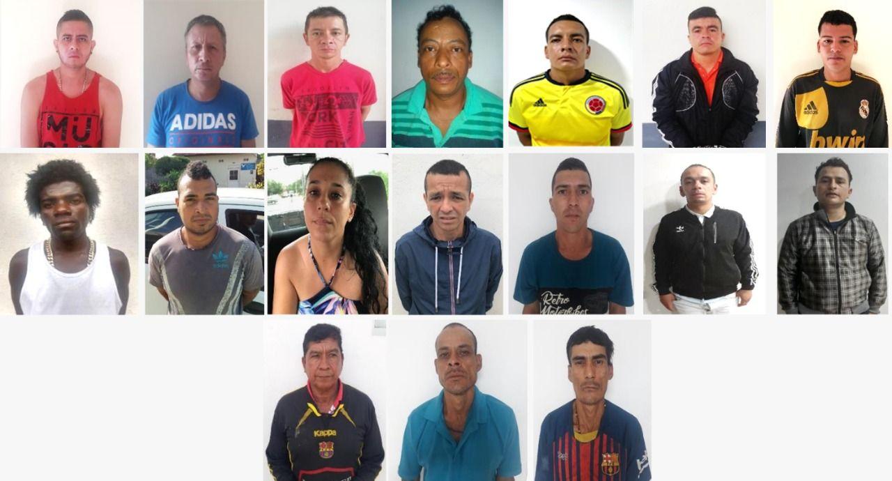 Conozca a 17 extorsionistas que delinquían desde la cárcel de Picaleña