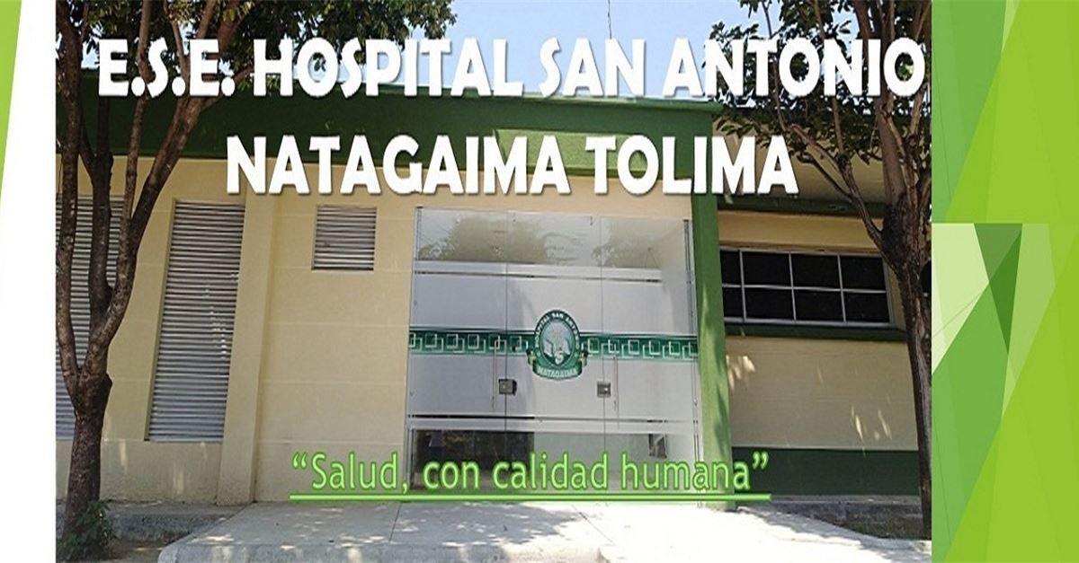 Imputaron cargos a ex gerente del hospital de Natagaima