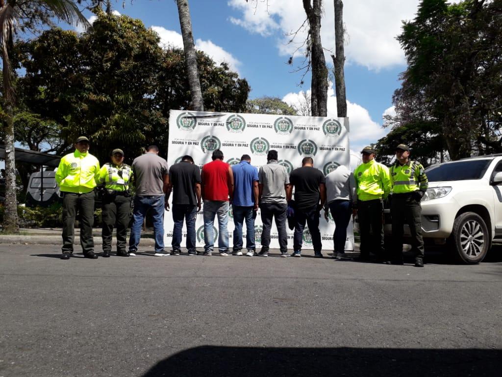 Enjaularon a 'Los Gatos', temibles 'piratas terrestres' del Tolima