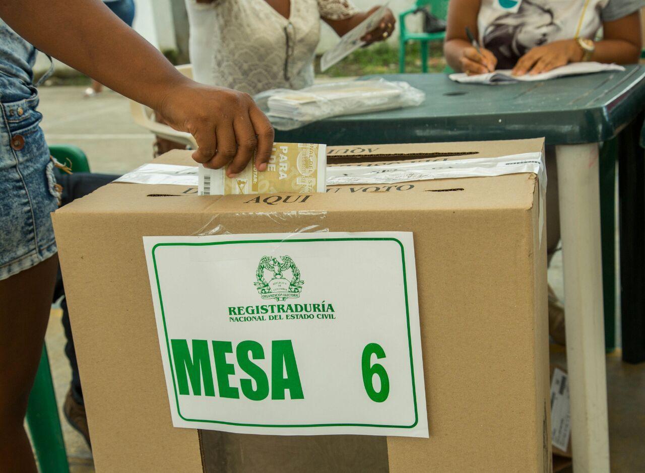 No olvide: Hay 1.297 mesas de votación en Ibagué