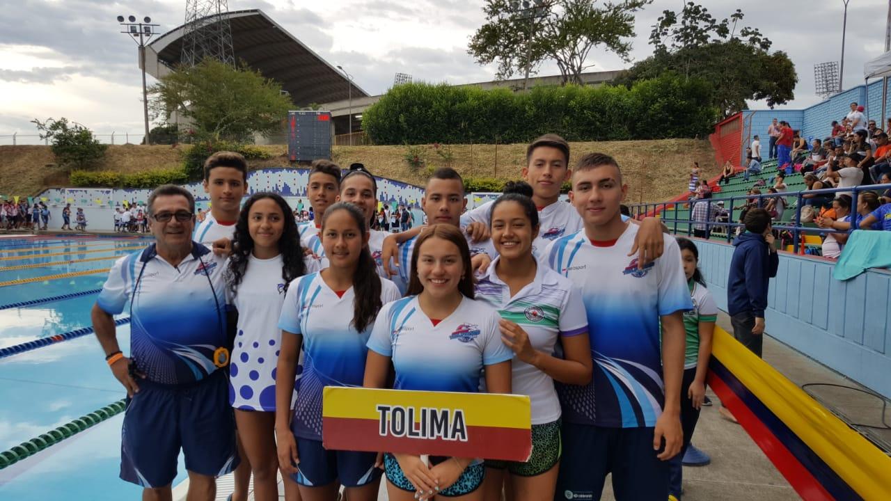 Liga de Natación del Tolima avanza en preparación hacia Juegos Nacionales Bolívar 2019