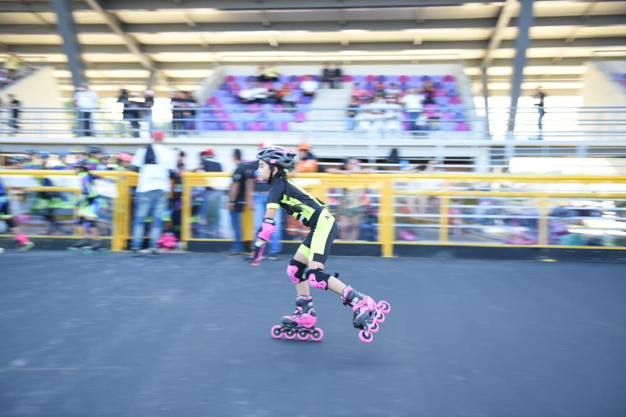 Habilitan el patinódromo, uno de los escenarios del Parque Deportivo