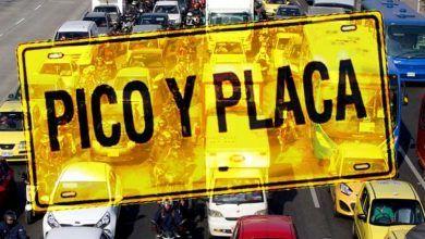 Photo of 'Pico y cédula' se acaba en Bogotá pero vuelve el pico y placa'