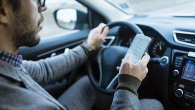 Sancionarán a quienes manejen hablando por celular, fumando, sin cinturón de seguridad o con mucho volumen en el radio