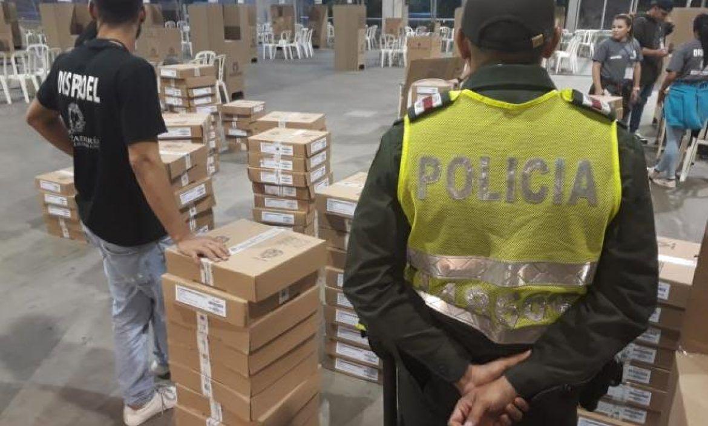 Más de 2.500 uniformados conformarán dispositivo de seguridad para votaciones