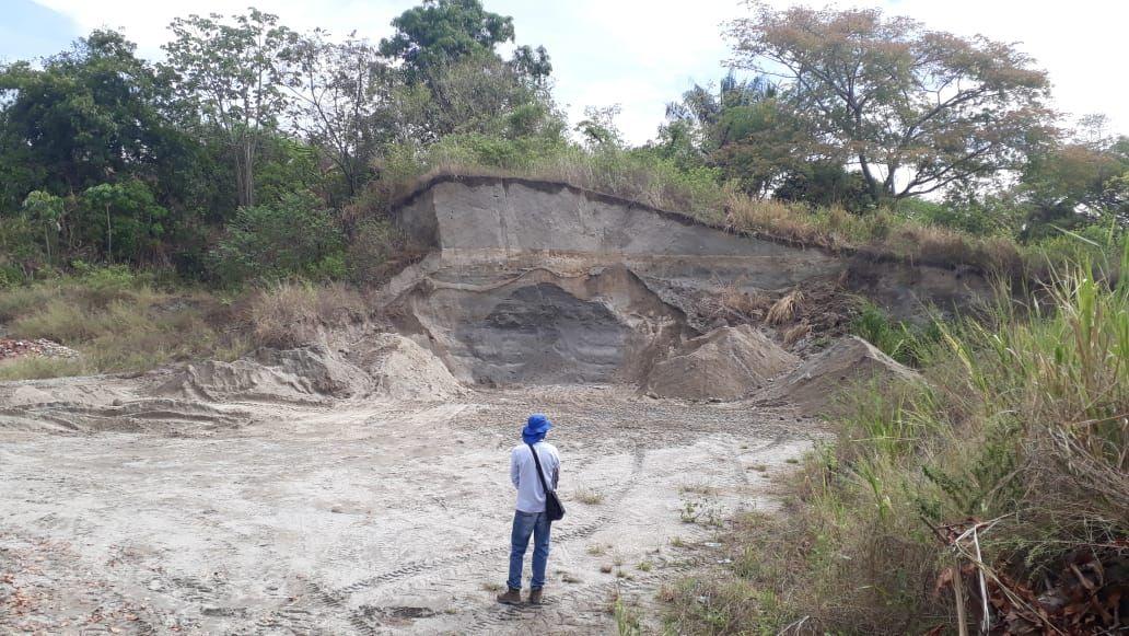 Cortolima y Policía realizaron operativo contra mina ilegal en zona rural de San Luis