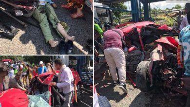 Mueren en accidente el personero y el contador de Dolores