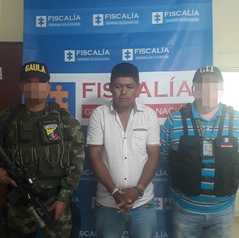 Asegurado  integrante de la estructura criminal Electra, por extorsión carcelaria en el sur de Tolima