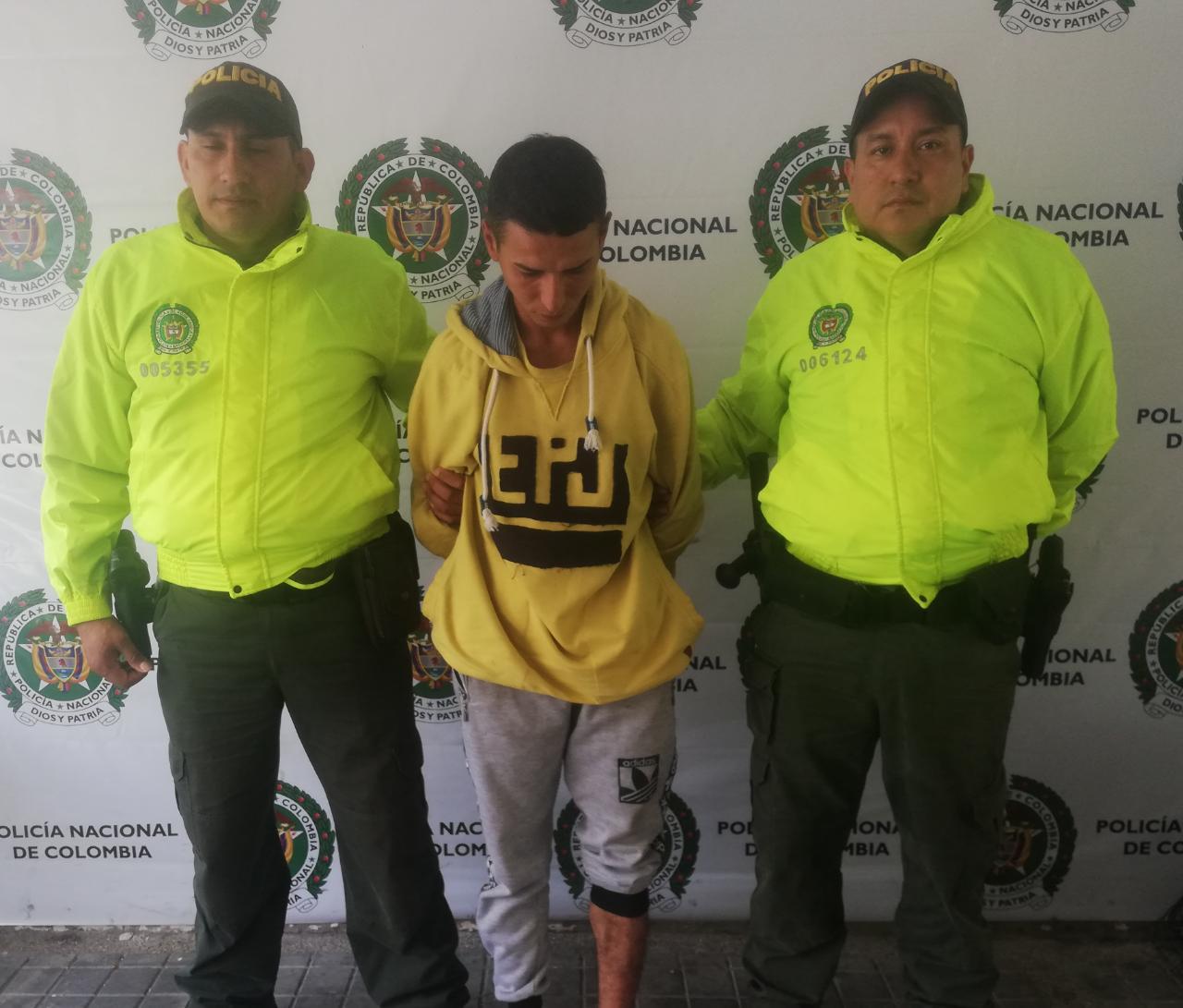 Asegurado por doble homicidio en Melgar