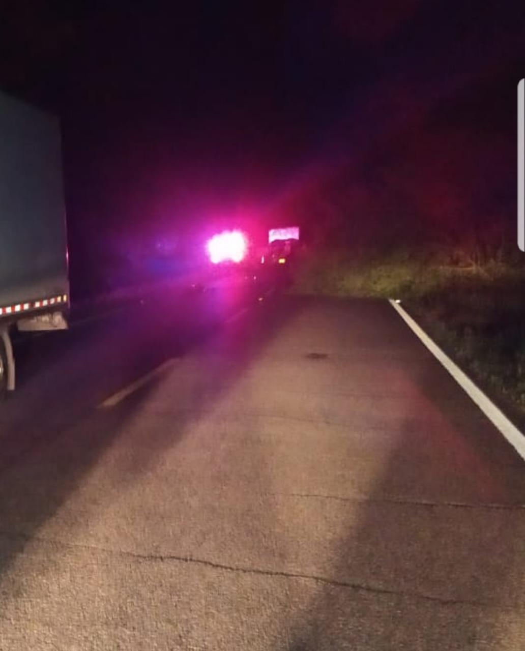 Siniestro vial entre moto y camión dejó una persona muerta cerca al Cruce de Armero