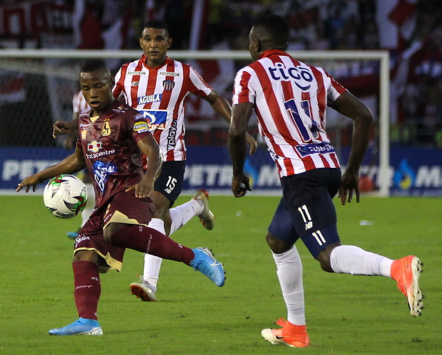 Deportes Tolima venció 3-1 a Junior en Barranquilla y mostró sus garras en el inicio de cuadrangulares