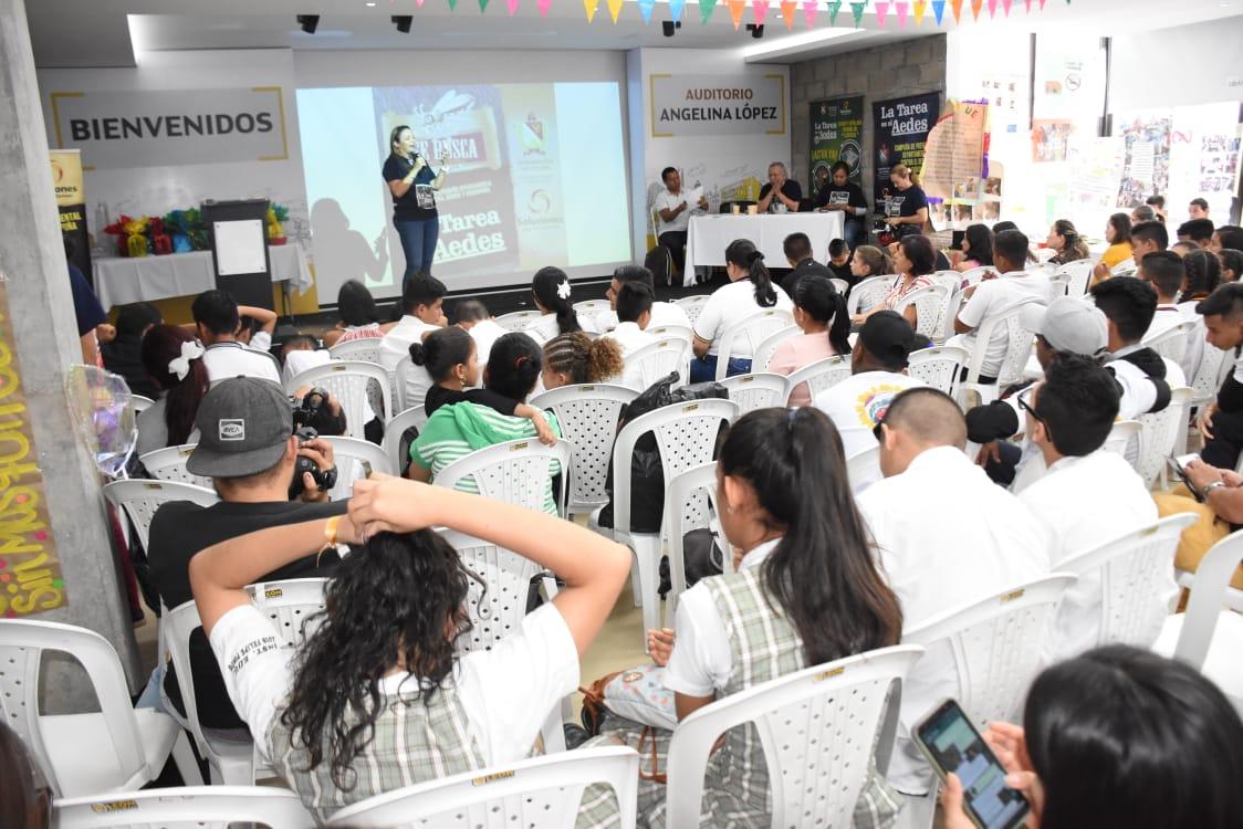 Los estudiantes, protagonistas en las acciones contra el dengue